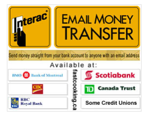 bank etransfer