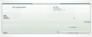 company cheque