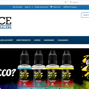 Ejuice Wholesalers Halifax