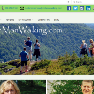 Irish Man Walking Apparel
