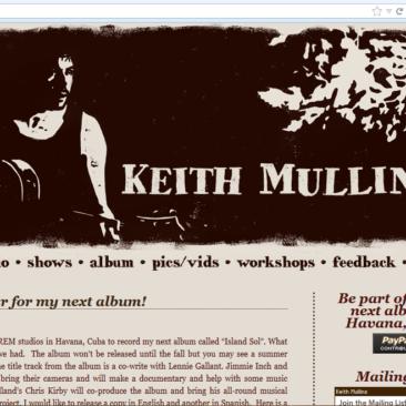 Keith Mullins Maritime Musician