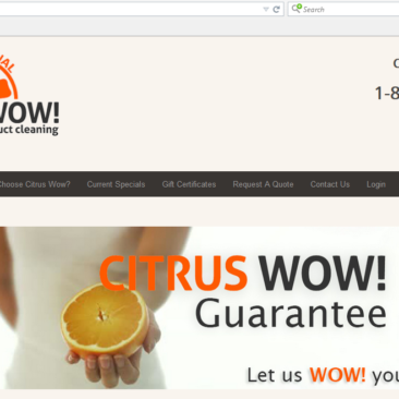 Citrus Wow Carpet Cleaning