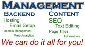 full website management services