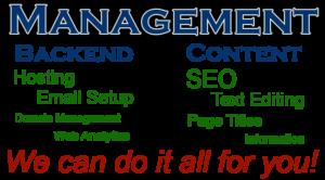 full website management services